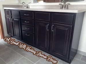 Dark Chocolate Bathroom Vanity