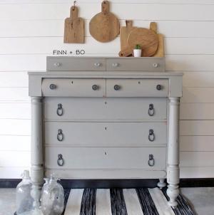 Empire Gray Dresser