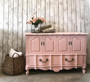 Adorable French Cedar Trunk In Custom Color Pink