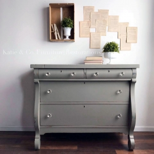 Empire Gray Chalk Style Paint Dresser