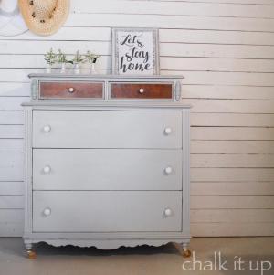 Precious Dresser In Seagull Gray