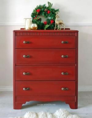 Brick Red Dresser