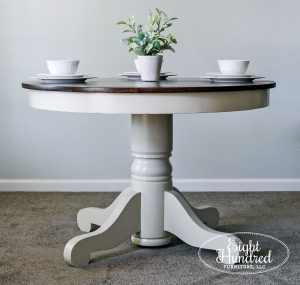 Linen And Java Dining Set