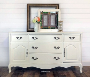 Timeless Antique White Buffet