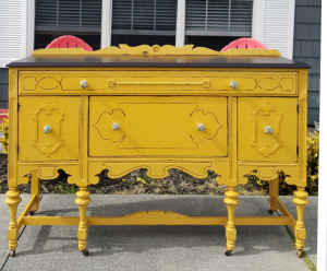 furniture design ideas featuring yellow general finishes design center rh designs generalfinishes com Black and Yellow Candy Buffet Yellow Painted Buffet