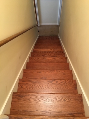 Manutten Restort Stairs In Pro Floor Stain Image